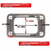 Metall Dichtung 4 loch T3 Flange Turbolader z.b GT3076 GT35 T70 T71 Garrett Turbolader