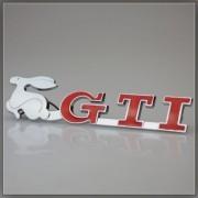 GTI Rabbit Grill Emblem
