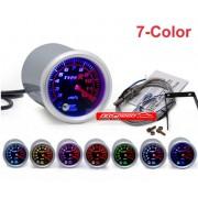 Type R Agastemparaturanzeige EGT 7 Farben Anzeige 52mm