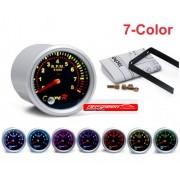 Type R Drehzahl RPM  7 Farben Anzeige 52mm