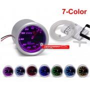 Type R Vaccum Unterdruck 7 Farben Anzeige 52mm
