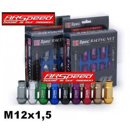 D1 Lug Nuts Radmuttern M12x1,5
