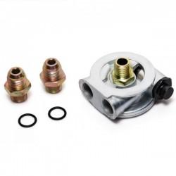 Öl Thermostat Adapter Platte Ölkühler AN10